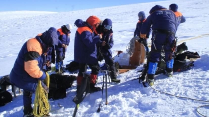 В МЧС рассказали о состоянии выживших после схода лавины на Алтае туристок