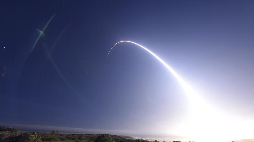 США провели запуск межконтинентальной ракеты Minuteman III