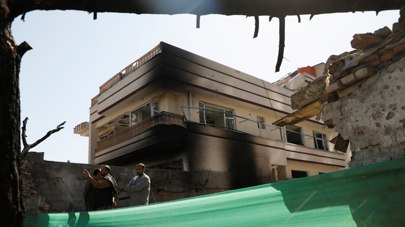 Четыре ребёнка погибли в результате взрыва фугаса в Афганистане