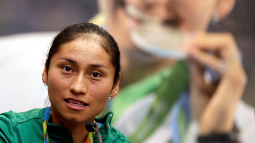 Серебряная призёрка ОИ-2016 дисквалифицирована за допинг