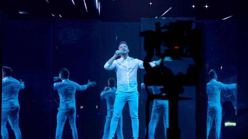 Лазарев провёл вторую репетицию номера для Евровидения