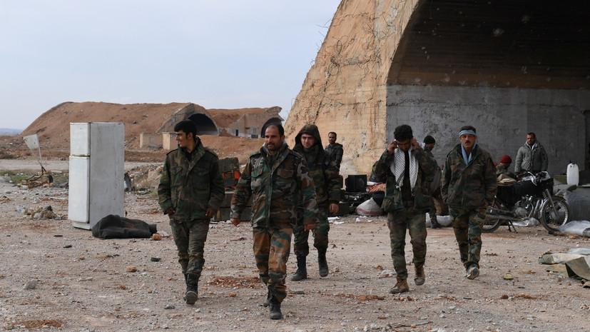 Сирийская армия освободила от боевиков «Ан-Нусры» пять поселений