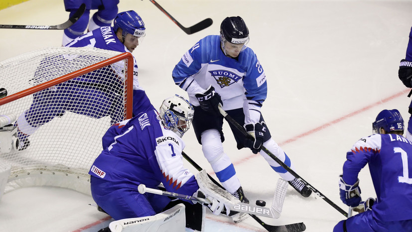 Hat-trick Kakko brought the national team of Finland victory