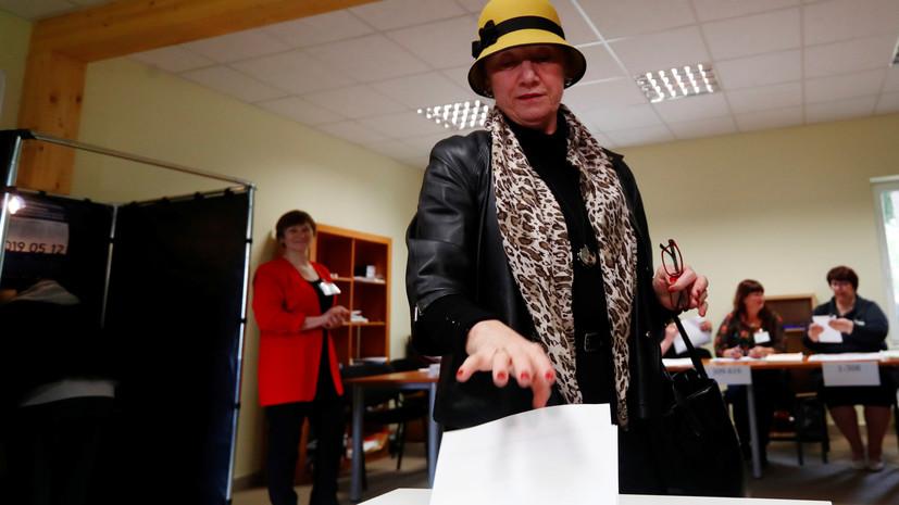 Явка на выборы президента Литвы к 16:00 превысила 44%