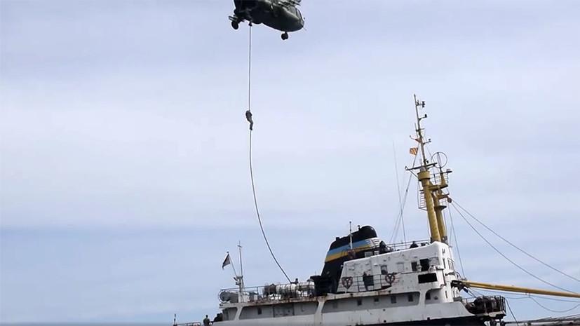 Абордаж «условного противника»: Украина провела учения по захвату кораблей в открытом море