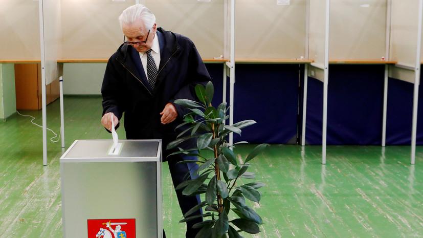 Явка на президентские выборы в Литве к 19:00 составила 53,6%