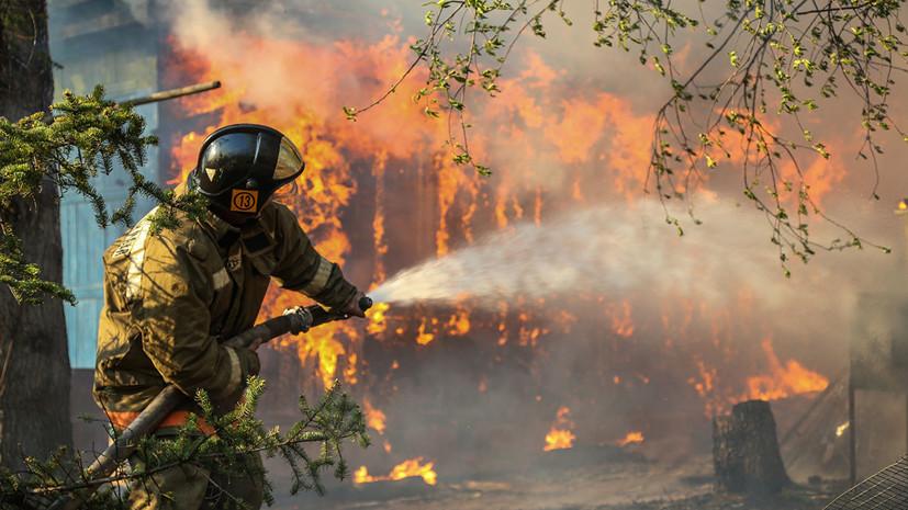 В Оренбургской области рассказали о ситуации с природными пожарами