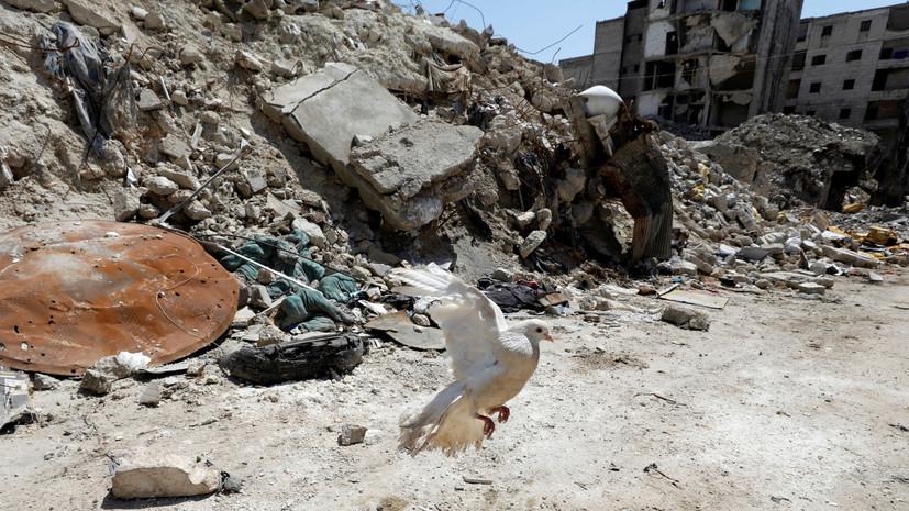 При обстреле в Сирии один человек погиб и пятеро пострадали