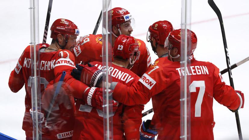 Сергачёв: сборная России по хоккею пока показывает 70% своих возможностей