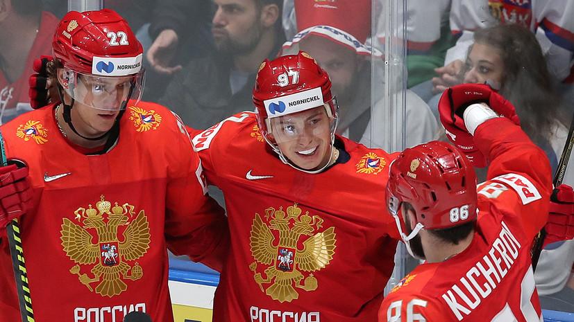 Разгром по всем статьям: Россия победила Италию со счётом 10:0 на ЧМ по хоккею