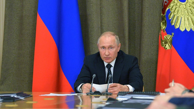 Путин заявил о необходимости заключить контракт на поставку 76 Су-57