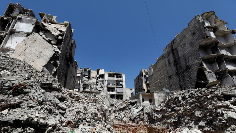 В ЦПВС сообщили о гибели восьми сирийцев при обстреле боевиков