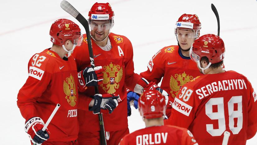 Кузнецов набрал четыре очка подряд в матче сборных России и Италии на ЧМ