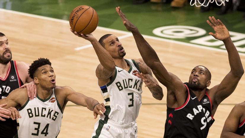 «Милуоки» обыграл «Торонто» в первом матче финала Восточной конференции НБА