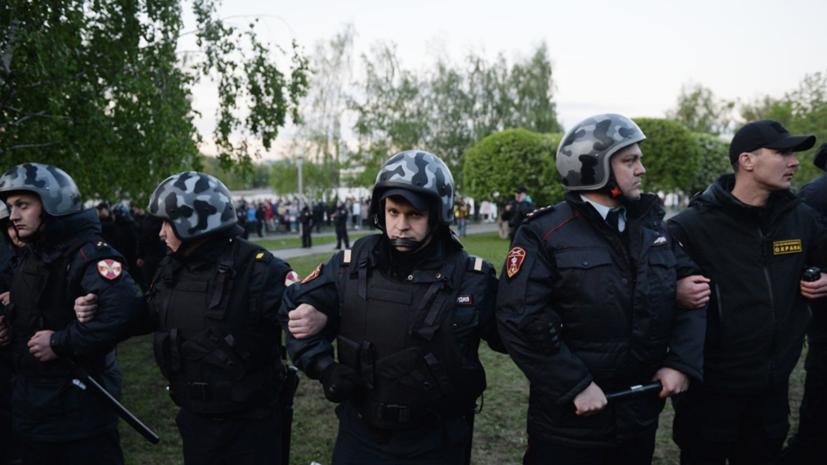 Суд арестовал 21 участника акций протеста в Екатеринбурге