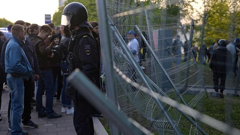 МВД: в ходе акции протеста в Екатеринбурге были задержаны 70 человек