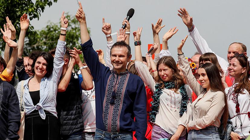 «Они все — спойлеры друг друга»: Святослав Вакарчук заявил о создании на Украине политической партии «Голос»