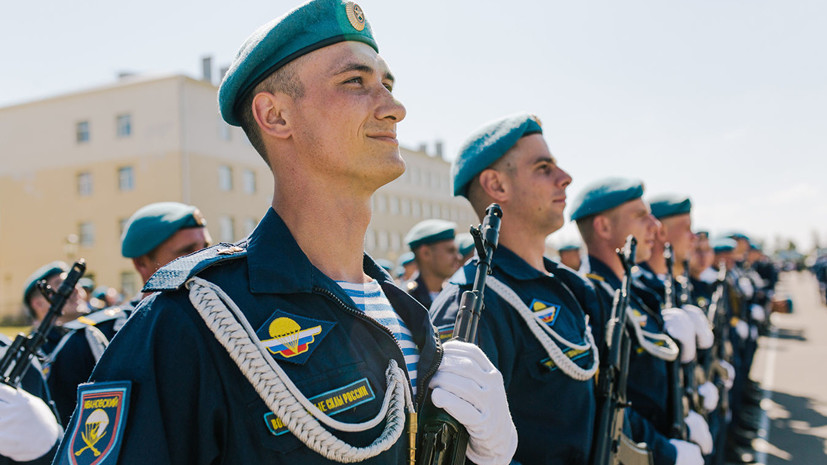В Ижевске установят монумент Славы ВДВ