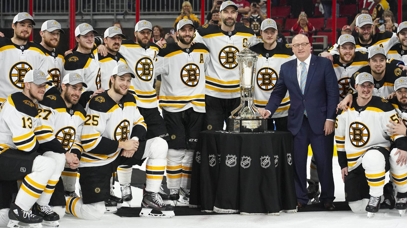 Boston Became The First Finalist Of The Stanley Cup 2019 Beating