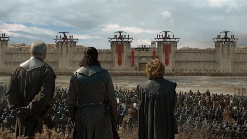 Петиция с требованием переснять восьмой сезон «Игры престолов» набрала более 1 миллиона подписей