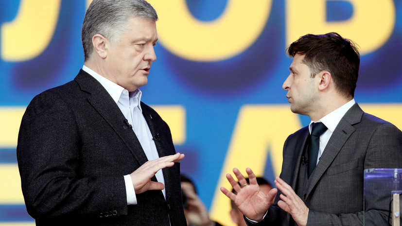 Эксперт объяснил совет Порошенко Зеленскому продолжать давление на Россию