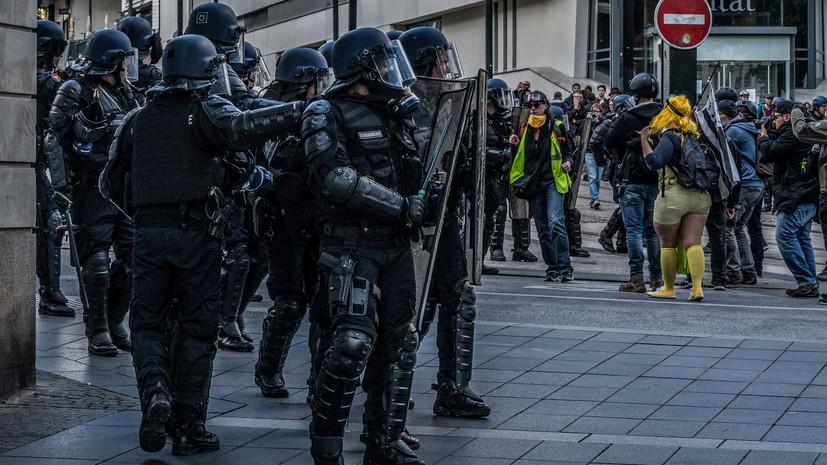 В МВД Франции заявили о самой малочисленной акции протеста «жёлтых жилетов»