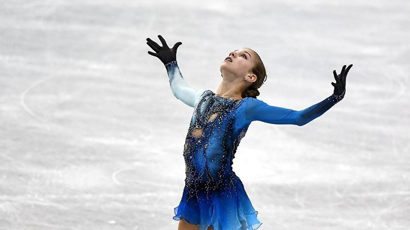 Фигуристка Трусова названа лучшей молодой спортсменкой Европы