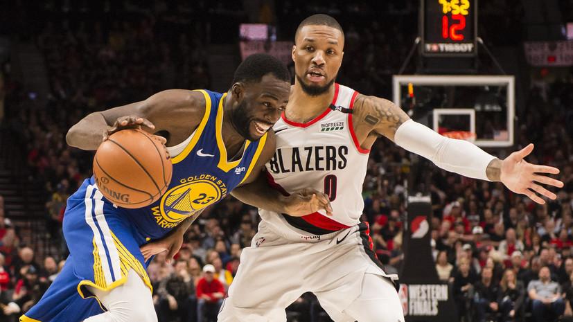 «Голден Стэйт» увеличил преимущество в серии плей-офф НБА с «Портлендом»