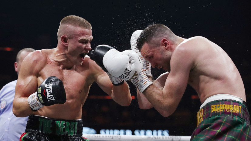 Белорусский боксёр Баранчик потерпел поражение от Тейлора в полуфинале WBSS