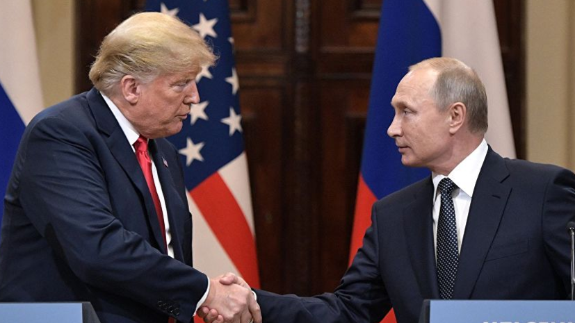В Кремле выразили надежду, что встреча Путина и Трампа произойдёт