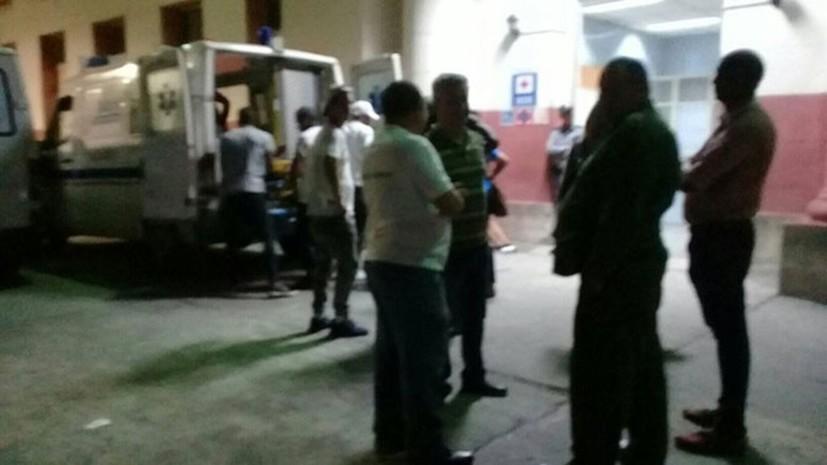 В Гаване автомобиль протаранил гулявших на набережной людей