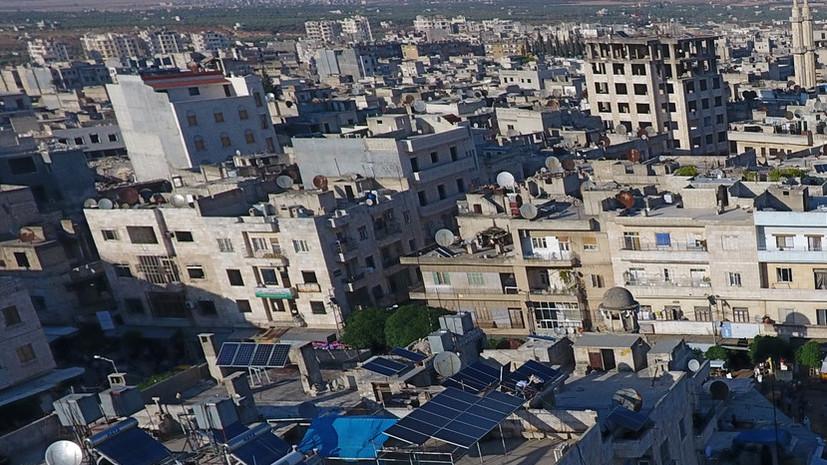 Двое сирийских военных погибли при обстреле в Идлибе