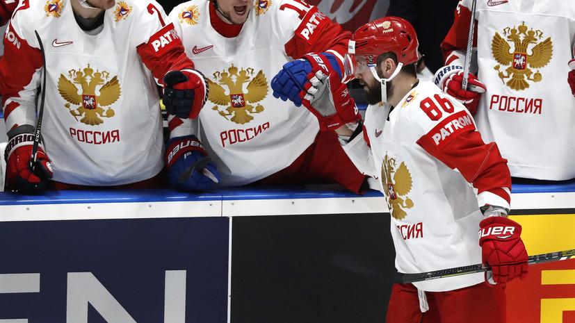 Кучеров вернулся на первое место в гонке бомбардиров ЧМ-2019 по хоккею