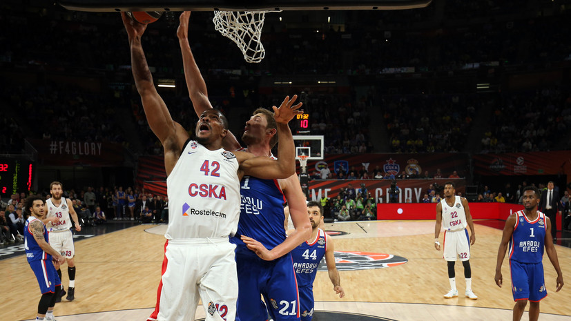 Тренер ЦСКА Итудис назвал баскетболиста Хайнса живой легендой