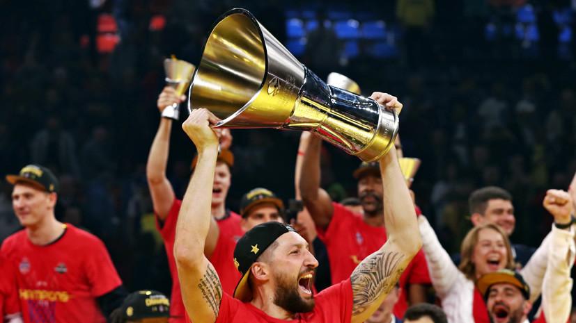 «Эта победа слаще, чем в 2016-м»: что говорили после триумфа ЦСКА в баскетбольной Евролиге