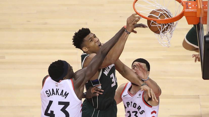 «Торонто» в овертайме обыграл «Милуоки», сократив отставание в серии плей-офф НБА
