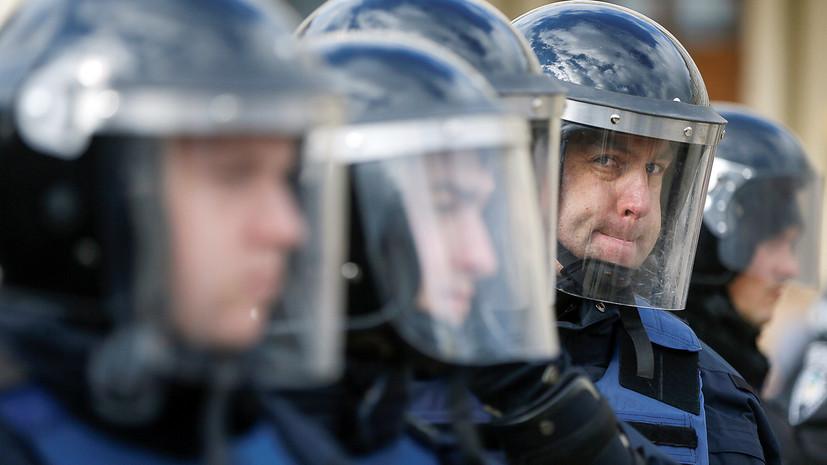 В центре Киева перед инаугурацией Зеленского усилена охрана порядка