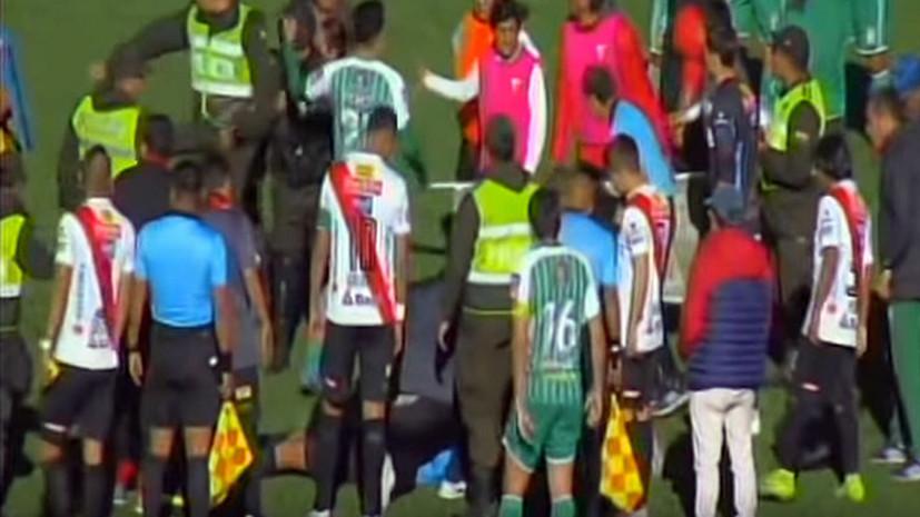 Во время футбольного матча в Боливии у арбитра остановилось сердце