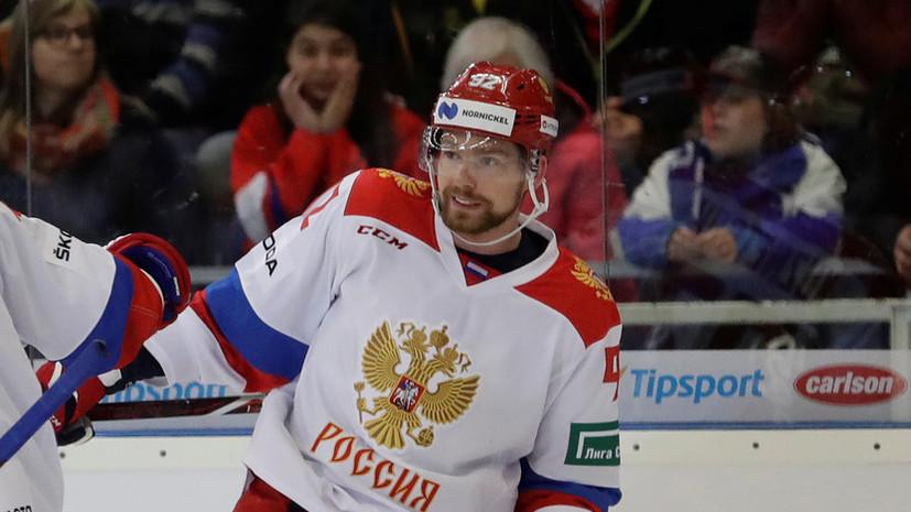 Кузнецов назвал победу над сборной Швейцарии лучшим подарком на день рождения