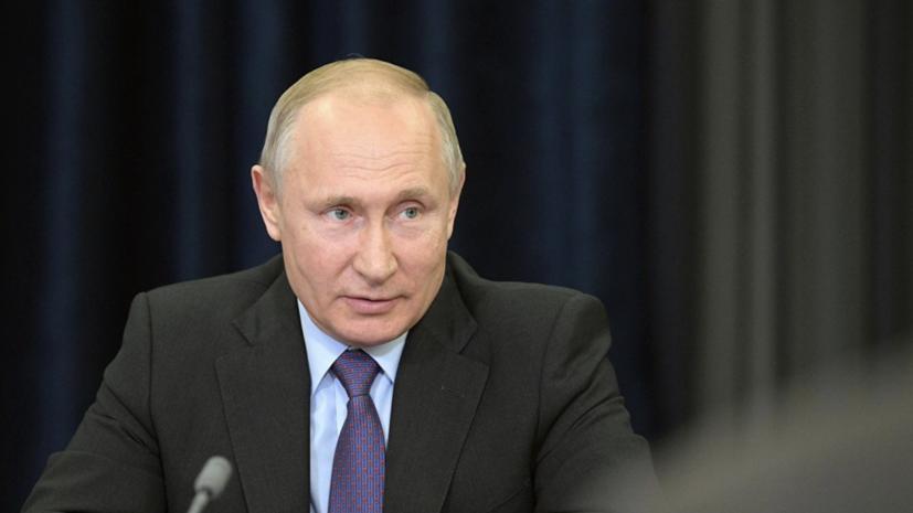Песков: Путин поздравит Зеленского в случае успехов по Донбассу