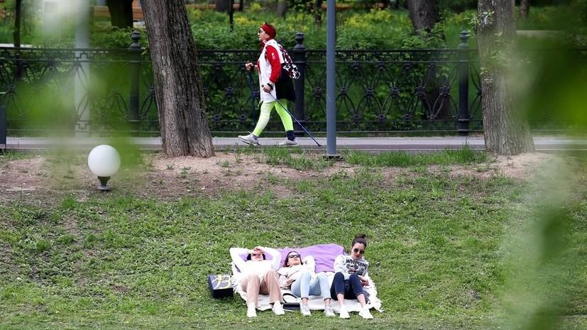 Климатическое лето пришло в Москву на две недели раньше срока