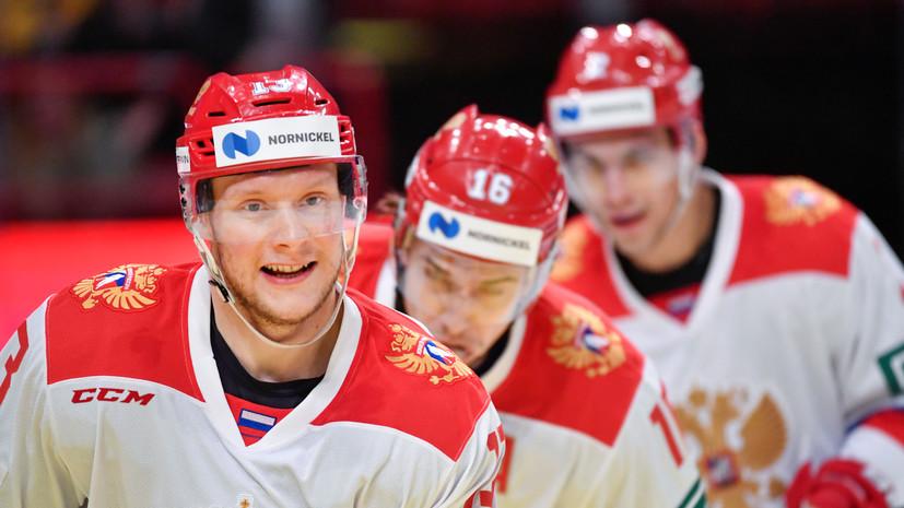 Андронов считает опасными в сборной Швеции всех хоккеистов линии нападения