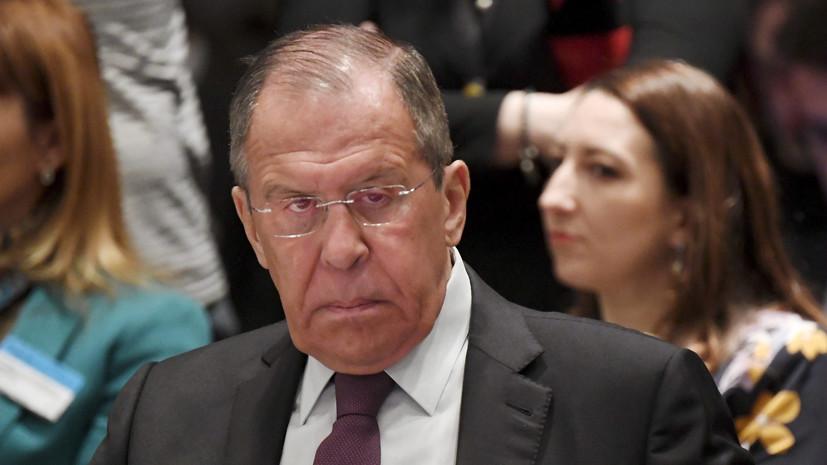 Лавров оценил заявление Зеленского о преодолении языкового раскола на Украине