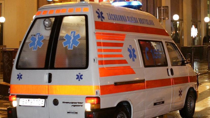 В Словакии 19 человек пострадали при аварии автобуса
