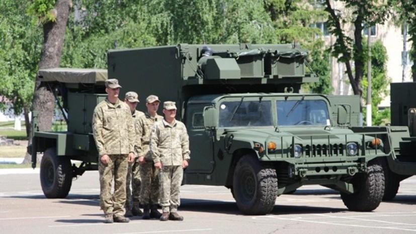 США передали ВС Украины два контрбатарейных радара