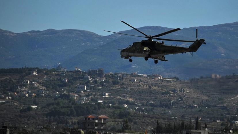 В ЦПВС рассказали о попытке обстрела боевиками авиабазы Хмеймим