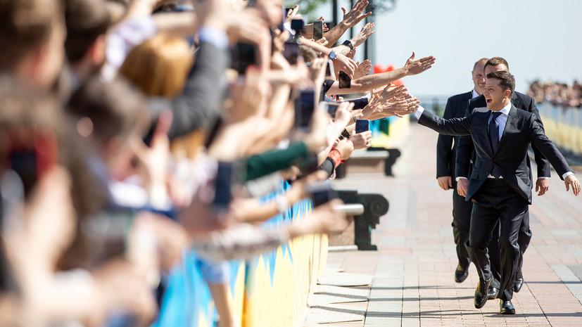 Назарбаев и Токаев поздравили Зеленского со вступлением в должность