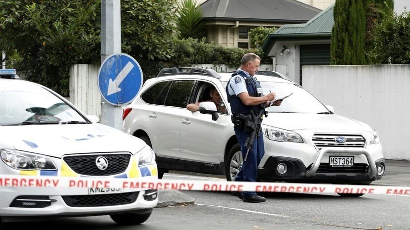 Устроившему стрельбу в Крайстчерче предъявили обвинения в терроризме