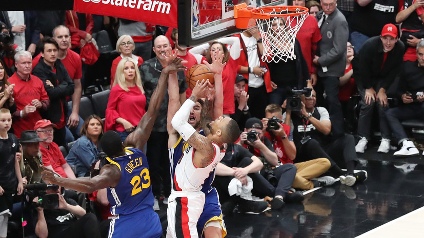 «Голден Стэйт» победил в серии «Портленд» и вышел в финал плей-офф НБА