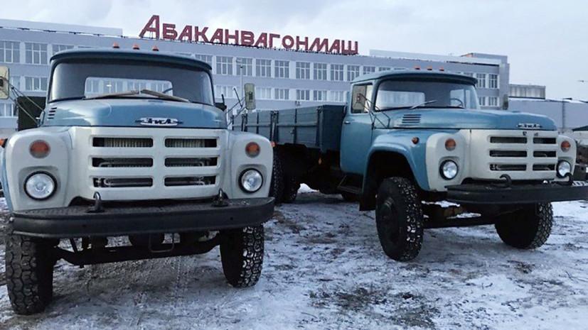 В сети выставили на продажу новые ЗИЛ-133 «крокодилы»